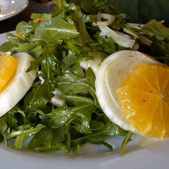Fennel,orange and arugula salad - Olio e Più, New York, NY