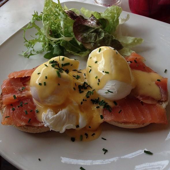 Eggs Benedict - The Wet Fish Café, London