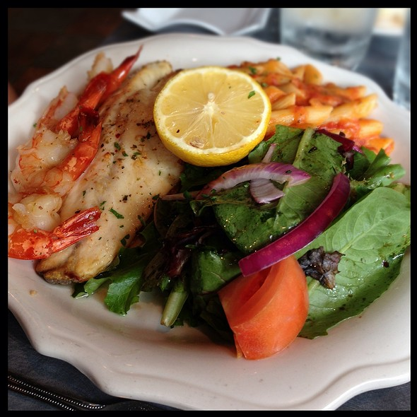 Fish And Shrimps - Allegro Italian Kitchen - Downtown, Edmonton, AB