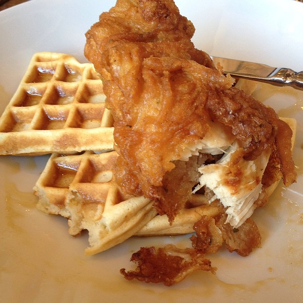 Fried Chicken and Waffles - Darien Social, Darien, CT