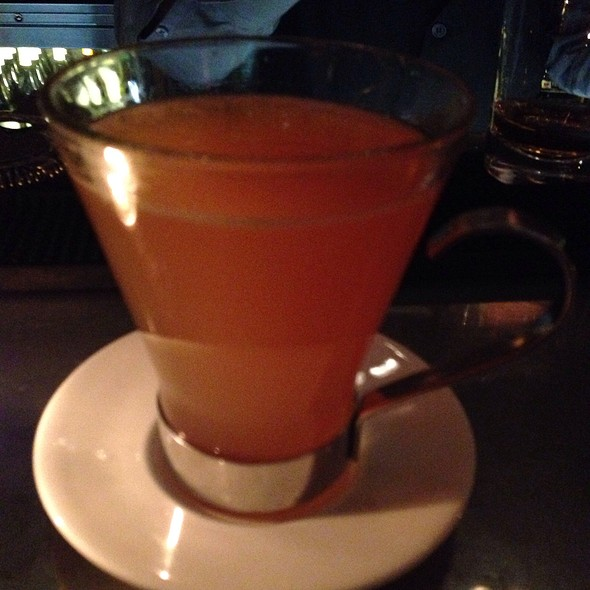 Pumpkin Hot Toddy - The Crosby Bar, New York, NY