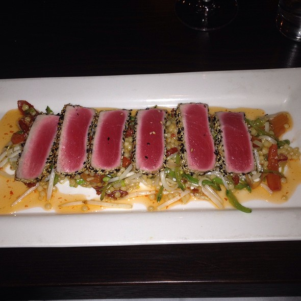 Black And White Sesame Crusted Tuna - Persimmon, Bethesda, MD