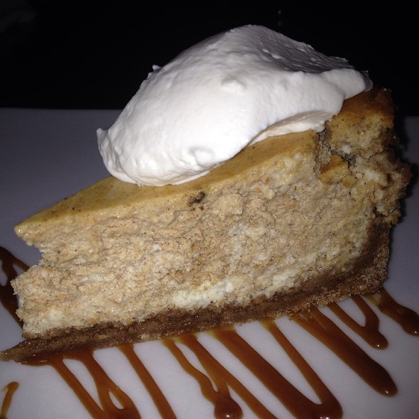 Pumpkin Cheesecake - Persimmon, Bethesda, MD