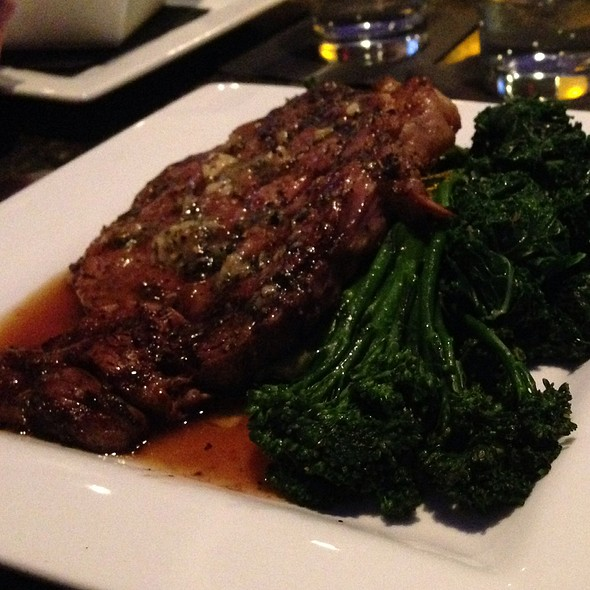 Ribeye Steak - Bleu Restaurant and Wine Bar, Columbia, MO