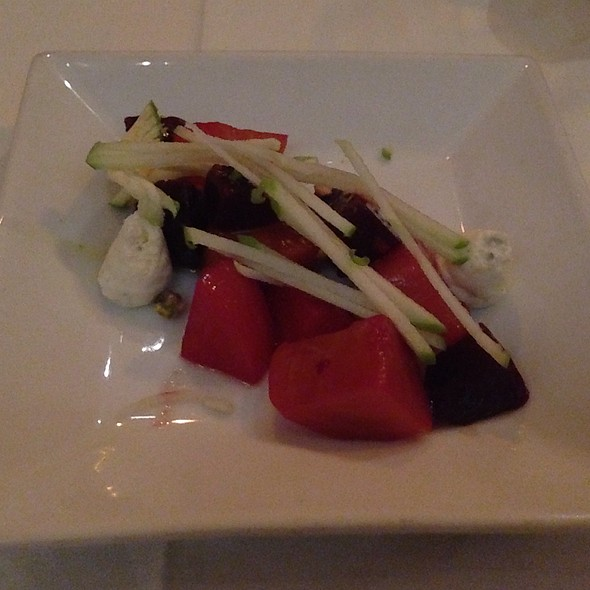 Roasted Red & Gold Beet Salad - Restaurant Nor, Washington, DC