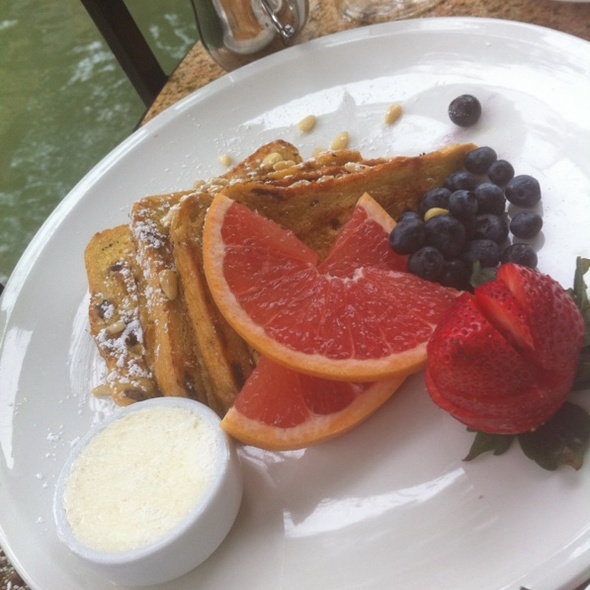 French Toast - Las Canarias - Omni La Mansion, San Antonio, TX