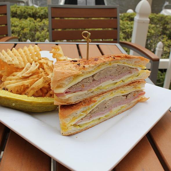 Ybor Cuban Sandwich - Waterside Grill – Tampa Marriott Waterside, Tampa, FL