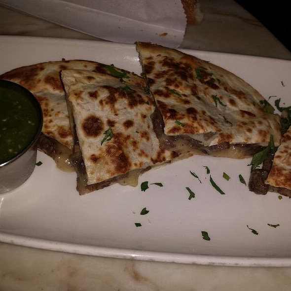 Steak & Wild Mushroom Quesadilla - Honu Kitchen and Cocktails, Huntington, NY