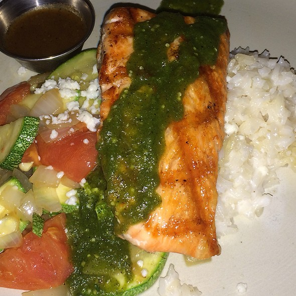 Salmon De Coco - Meso Maya - Downtown Dallas, Dallas, TX