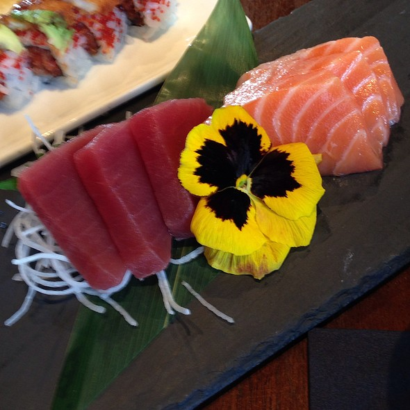 Salmon & Tuna Sashimi - Azuma on the Lake, Sugar Land, TX