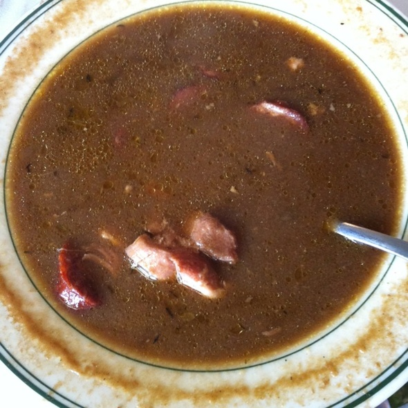 Chicken And Andouille Sausage Gumbo - Poor Boy's Riverside Inn, Broussard, LA