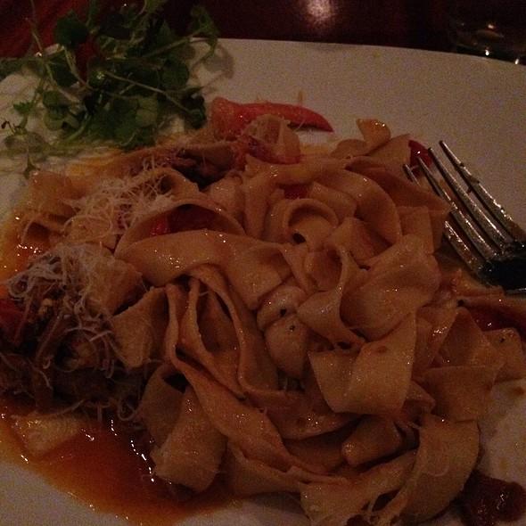 Pappardelle- Main Lobster, Chanterelle Mushrooms, Tarragon - Mediterraneo, Greenwich, CT