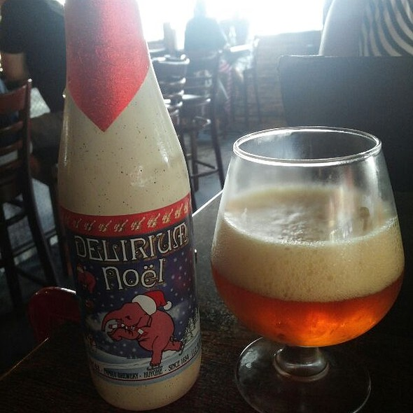 Delirium Noël Ale  - Burger & Beer Joint - Brickell, Miami, FL