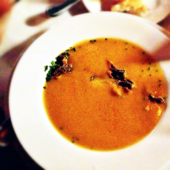pumpkin soup - Mon Ami Gabi - Las Vegas - Main Dining Room, Las Vegas, NV