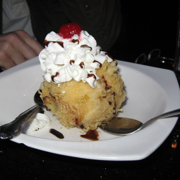 Tempura Fried Ice Cream - Hana Japanese Steakhouse, Albany, NY