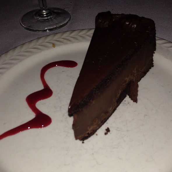 Chocolate Mousse Cake - La Rivista, New York, NY