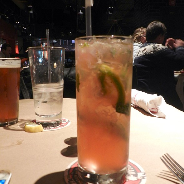 Sammy Hagar's Rockin Red Mojito - Guy's American Kitchen and Bar, New York, NY