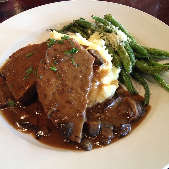 Meatloaf and Mashed Potatoes - Zov's Bistro Tustin, Tustin, CA