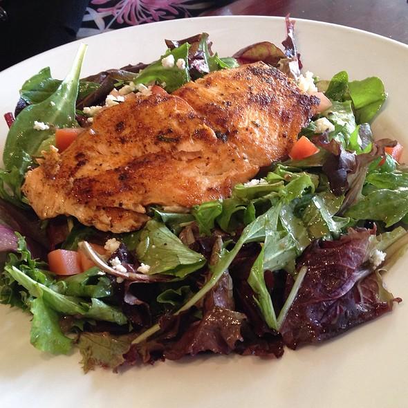 Grilled Salmon Salad - Zov's Bistro Tustin, Tustin, CA