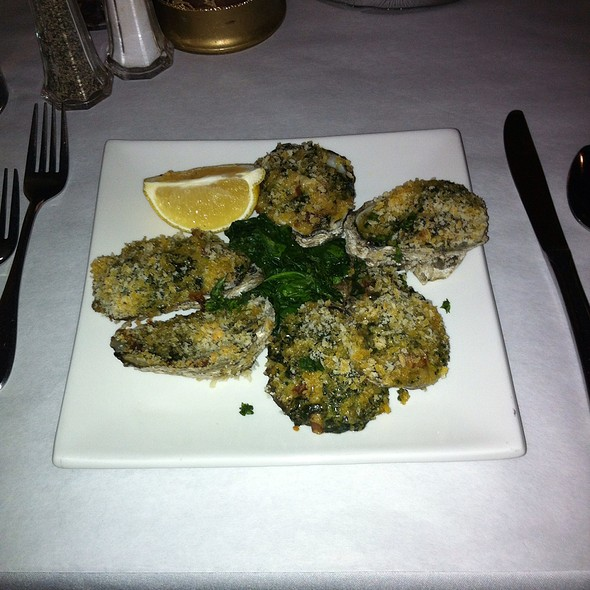 Oysters Rockefeller - The Parson's Table, Little River, SC