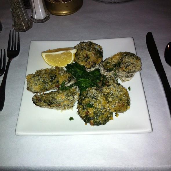 Oysters Rockefeller - The Parson's Table, Little River, SC