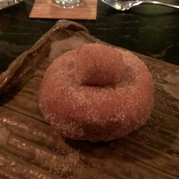 Duck Fat Donut - The Grey Plume, Omaha, NE