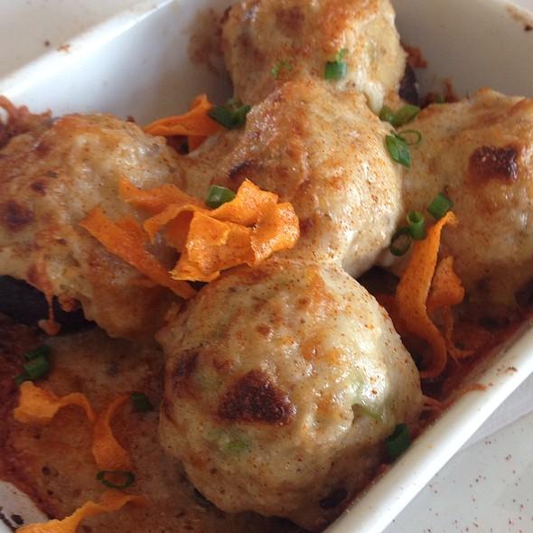 Seafood Stuffed Mushrooms - Landry's Seafood House - New Orleans, New Orleans, LA