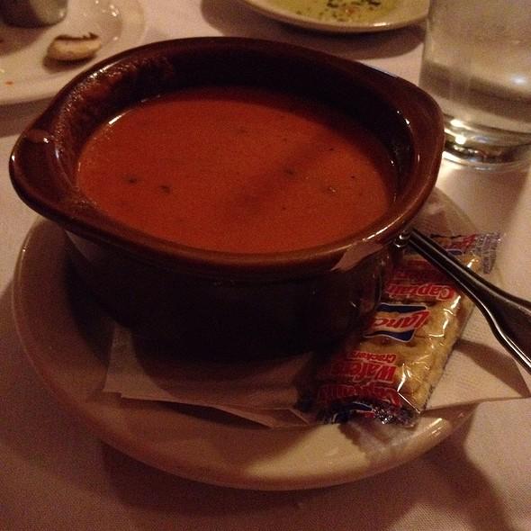 Tomato Basil Soup - La Scala Italian Restaurant, Lafayette, IN