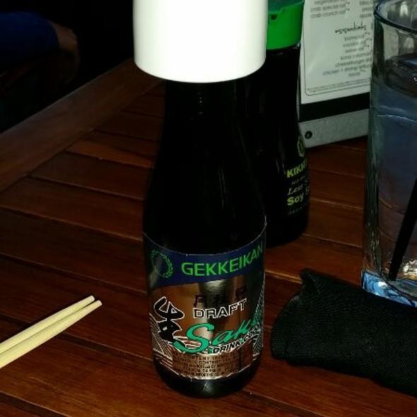 Gekkeikan Draft Sake - Kona Grill - Omaha, Omaha, NE