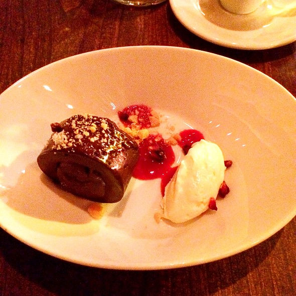 Chocolate Ganache With Mint Ice Cream - Ela, Philadelphia, PA