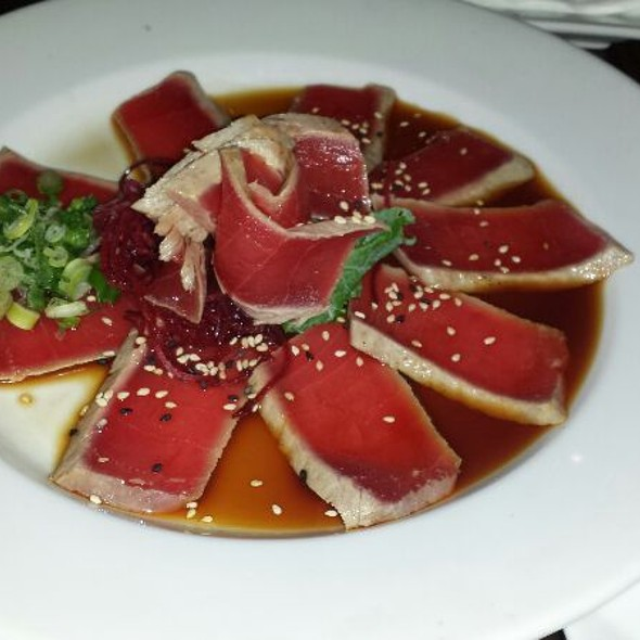 Tuna tataki - Red Koi Lounge, Coral Gables, FL