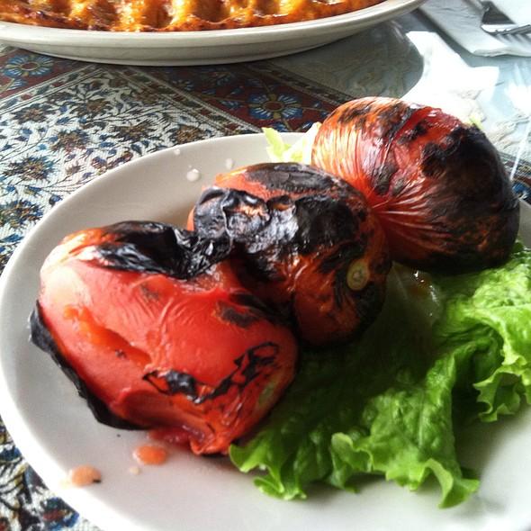 Grilled Tomatoes  - Pars Cuisine, Albuquerque, NM