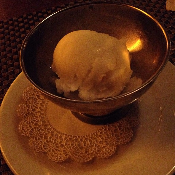 Fennel Sorbetto - Florio, San Francisco, CA