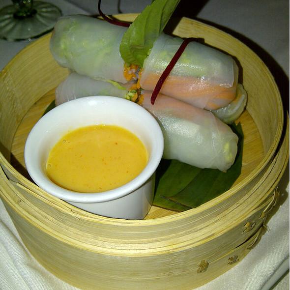 Basil Spring Rolls - Nan Thai Fine Dining, Atlanta, GA