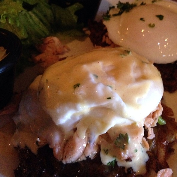 Salmon Benedict - La Tarte Flambee - Upper East Side, New York, NY