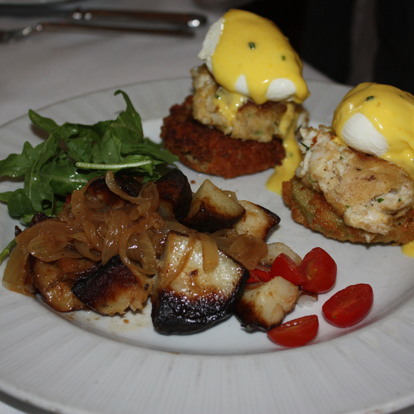 Crabcake Benedict  - High Cotton - Charleston, Charleston, SC