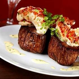 Filet Migon Topped With Lobster Tail - The Capital Grille - Minneapolis, Minneapolis, MN