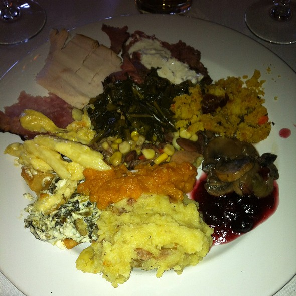 Thanksgiving Plate - Mill Pond Steakhouse, Rembert, SC