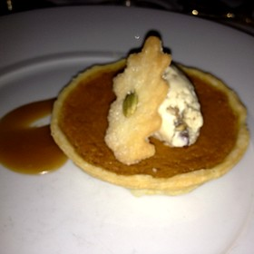 Pumpkin Pie - White Barn Inn, Kennebunk, ME