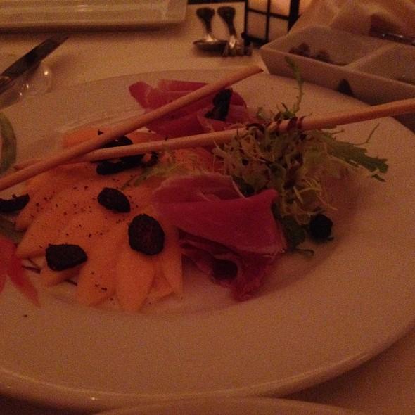 Prosciutto With Melon - Bice at The Loews Portofino Bay Hotel, Orlando, FL