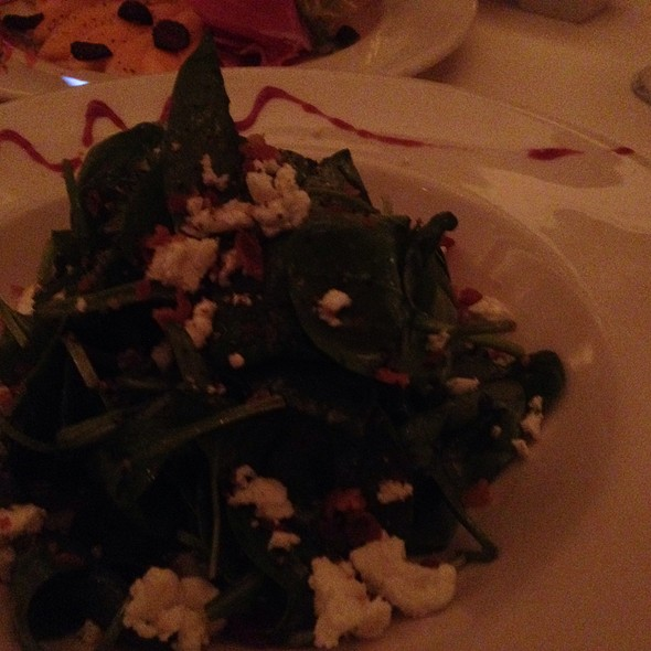 Spinach And Goat Cheese Salad - Bice at The Loews Portofino Bay Hotel, Orlando, FL