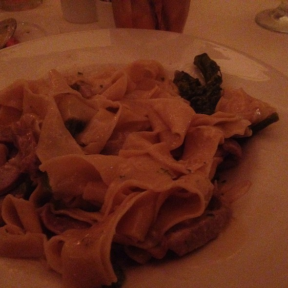 Pappardelle Con Salsiccia - Bice at The Loews Portofino Bay Hotel, Orlando, FL