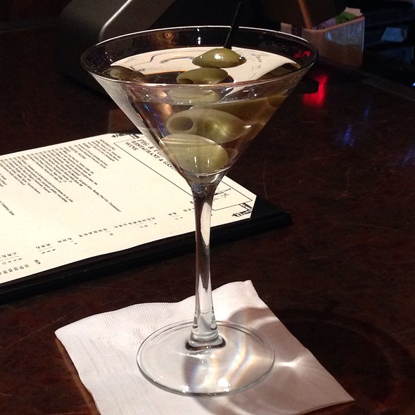 Grey Goose Martini - Pig and Prince, Montclair, NJ