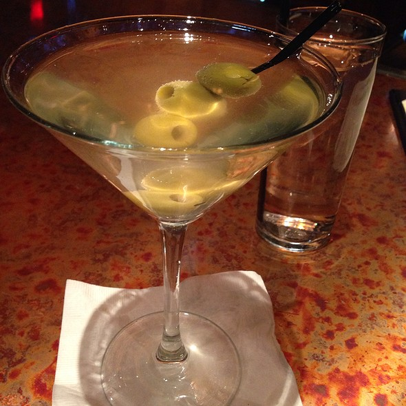 Dirty Grey Goose Martini - Pig and Prince, Montclair, NJ