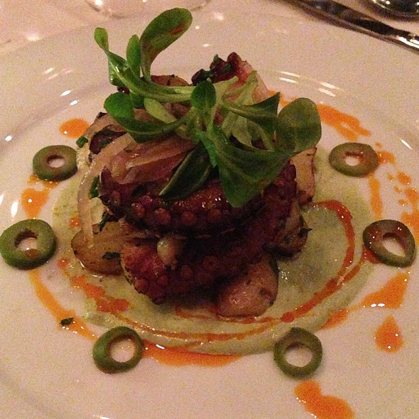Warm Octopus Insalata - Fascino, Montclair, NJ