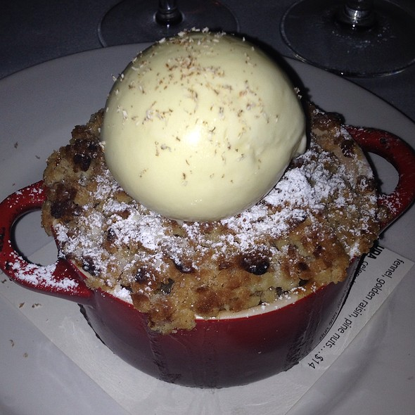 Honeycrisp Apple Cobbler - FIG, Charleston, SC