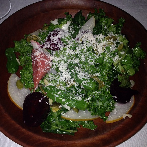 Winterbor Kale Salad - FIG, Charleston, SC