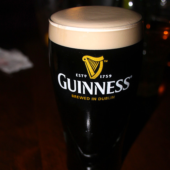 Guinness on Draught - Muldoon's Irish Pub, Newport Beach, CA