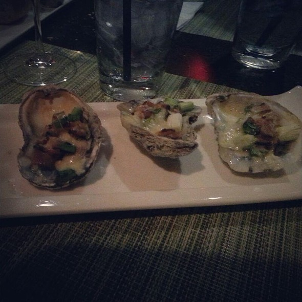 Wood Fired Oysters - Ricciuti's Restaurant, Olney, MD