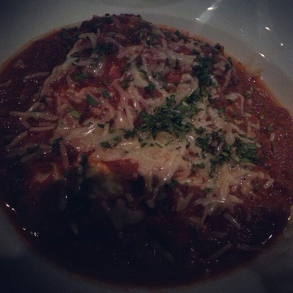 Open Lasagna With Spinach - Ricciuti's Restaurant, Olney, MD